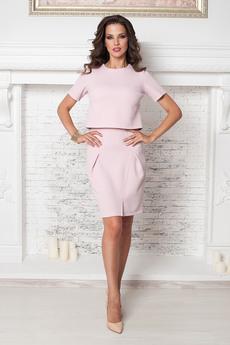 Костюм: укороченный топ и юбка Angela Ricci со скидкой